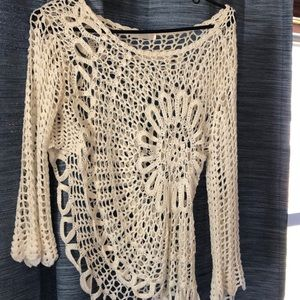Beautiful lace top!